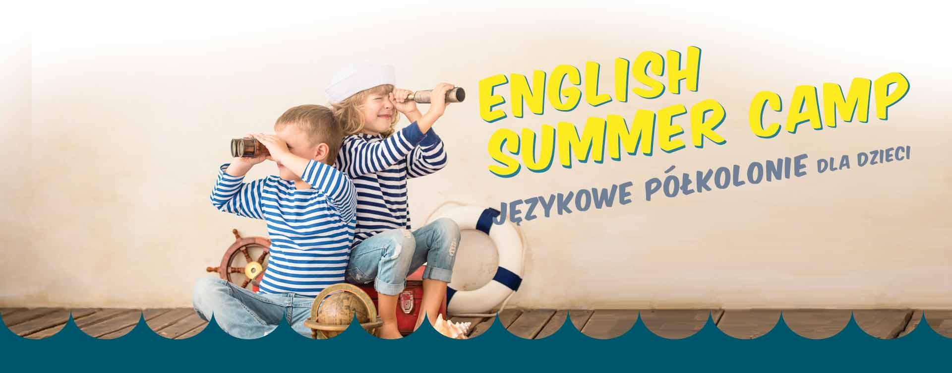 Summer Camp - półkolonie językowe dla dzieci